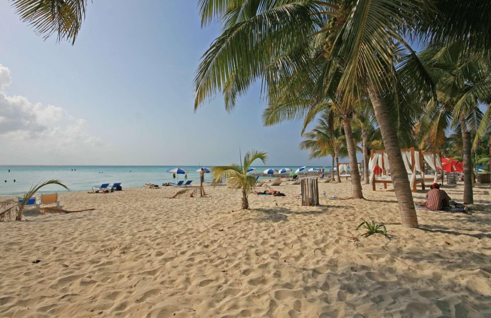 Beach at Cabanas Maria Del Mar, Isla Mujeres