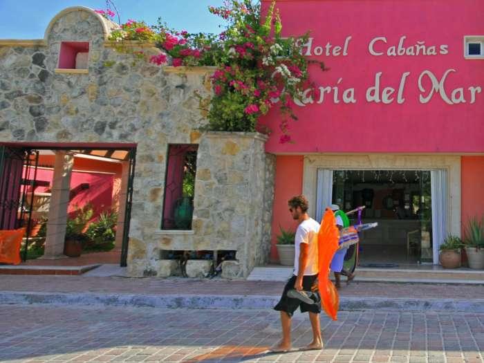 Entrance Cabanas Maria Del Mar, Isla Mujeres