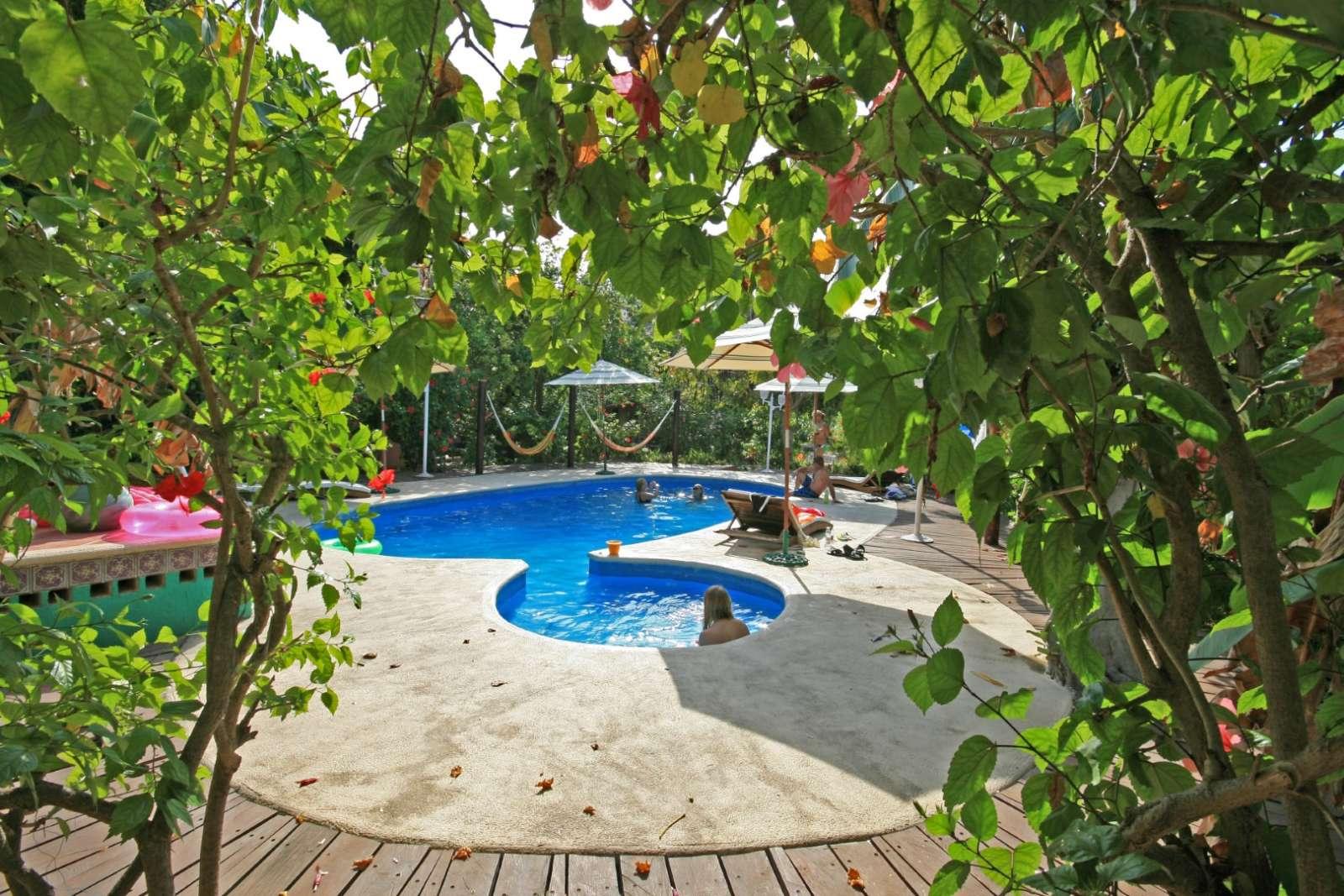 Pool at Cabanas Maria Del Mar, Isla Mujeres