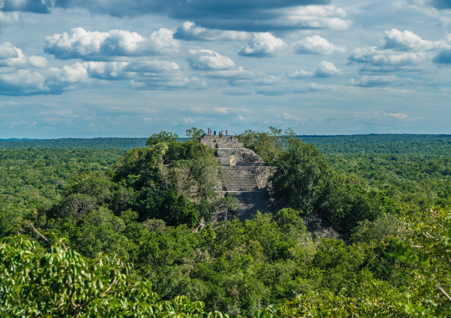 Mexico Calakmul Mayan Ruins Maya