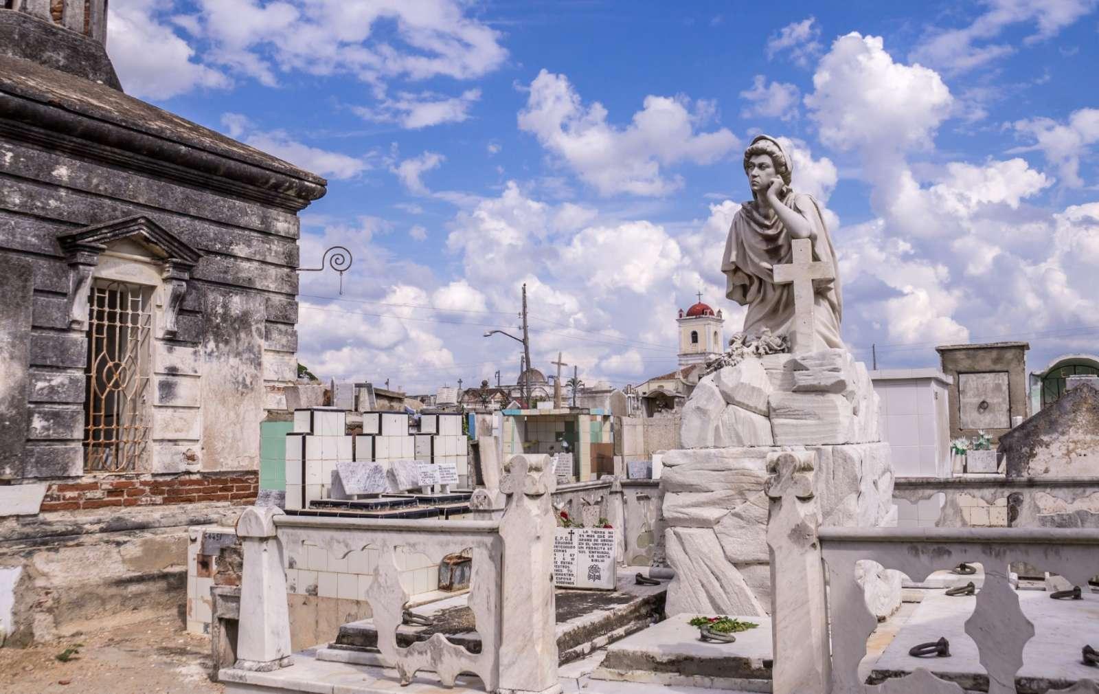 The cemetery in Camaguey, Cuba