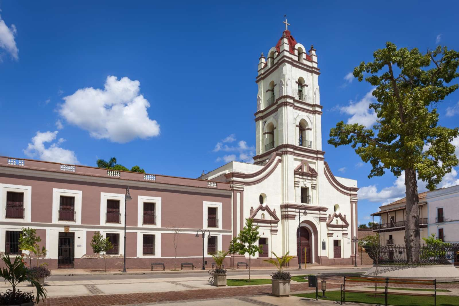 The church of Nuestra Senora de la Merced in Camaguey, Cuba