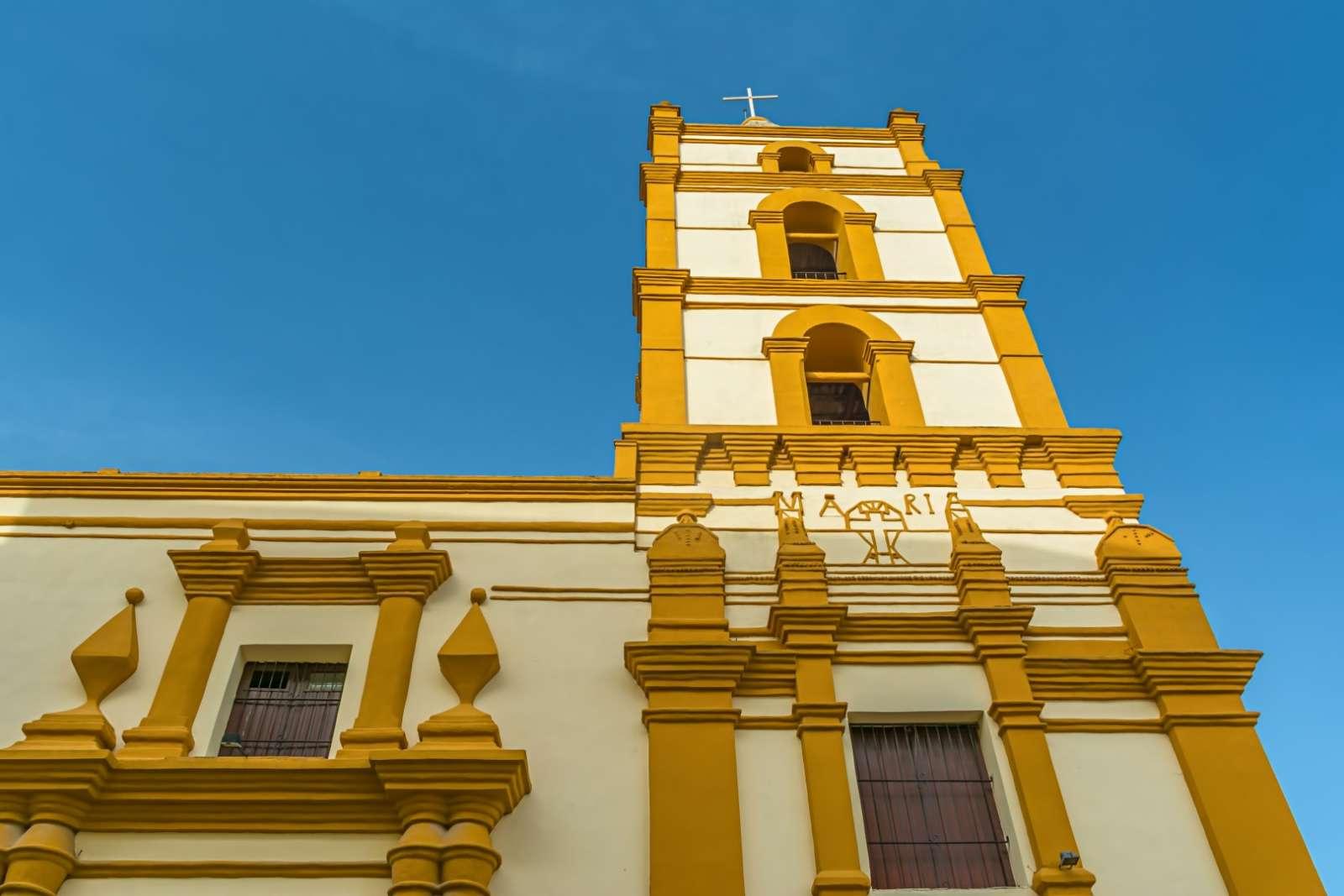 Church of Nuestra Señora De La Soledad in Camagüey, Cuba