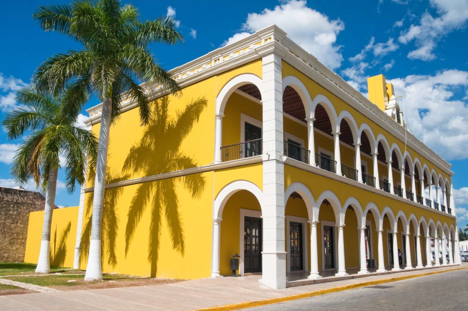 Library in Campeche Mexico