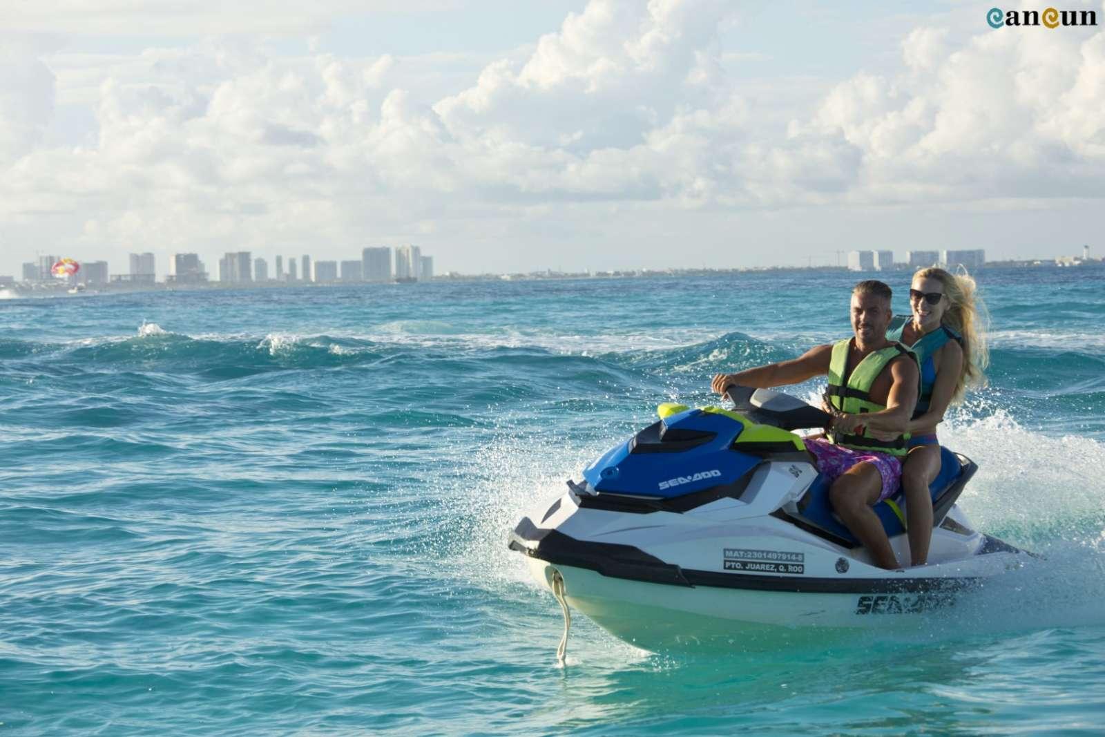 Cancun Mexico Jetski