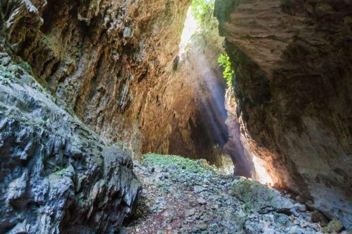 Cueva El Jardin in Candelaria, Guatemala