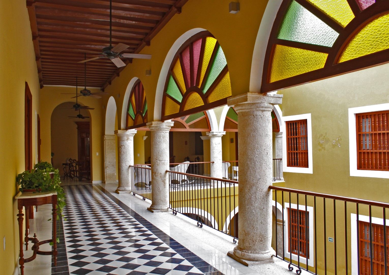 Corridor at Casa Don Gustavo Campeche