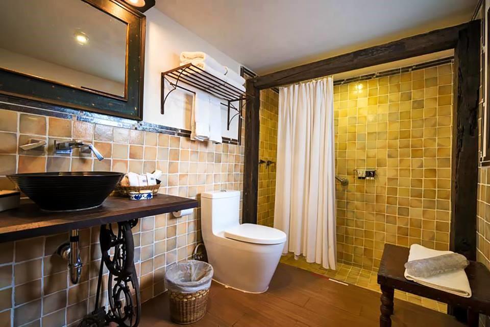 Bathroom at Casa Encantada in Antigua