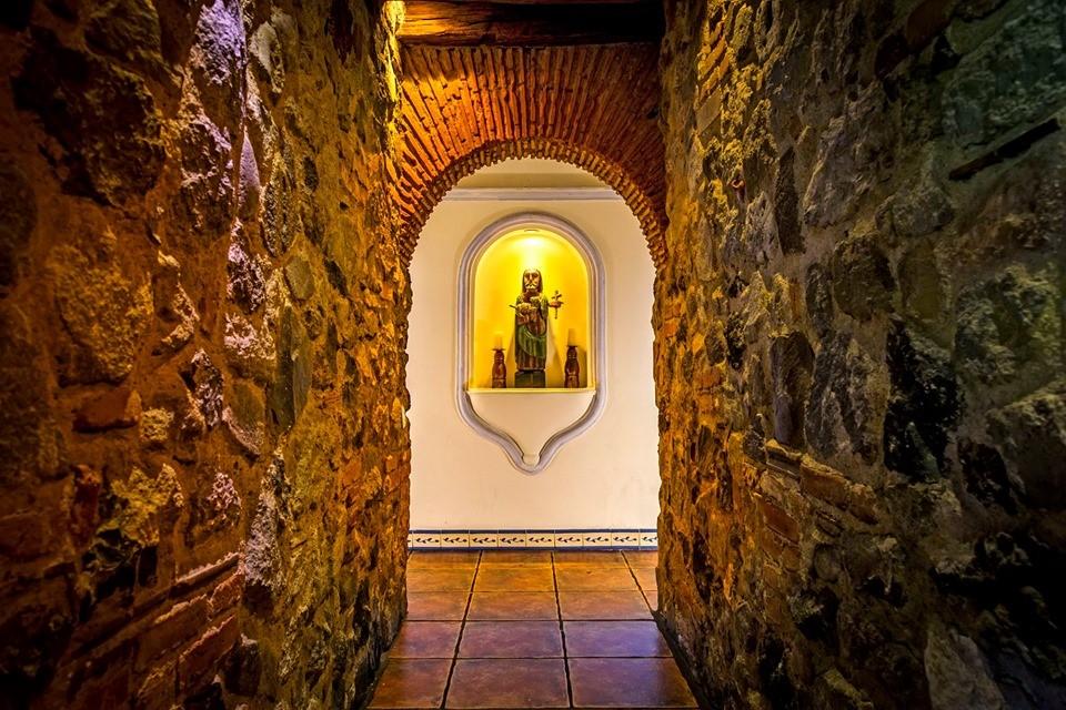 Corridor at Casa Encantada in Antigua