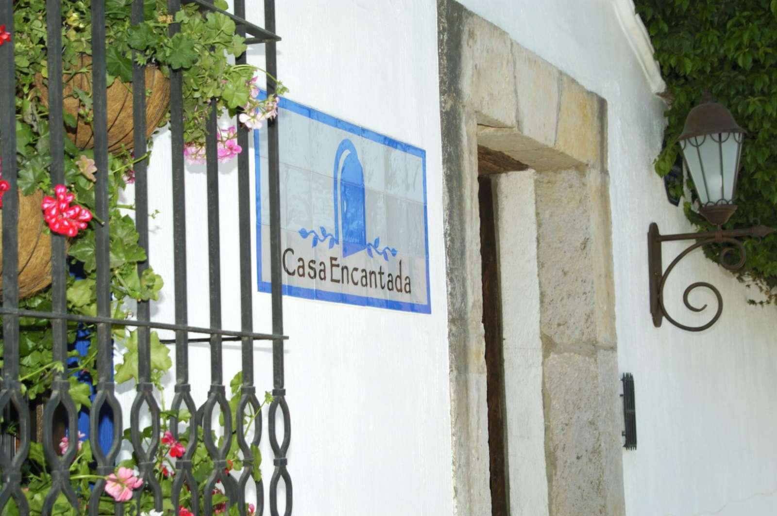 Entrance at Casa Encantada in Antigua