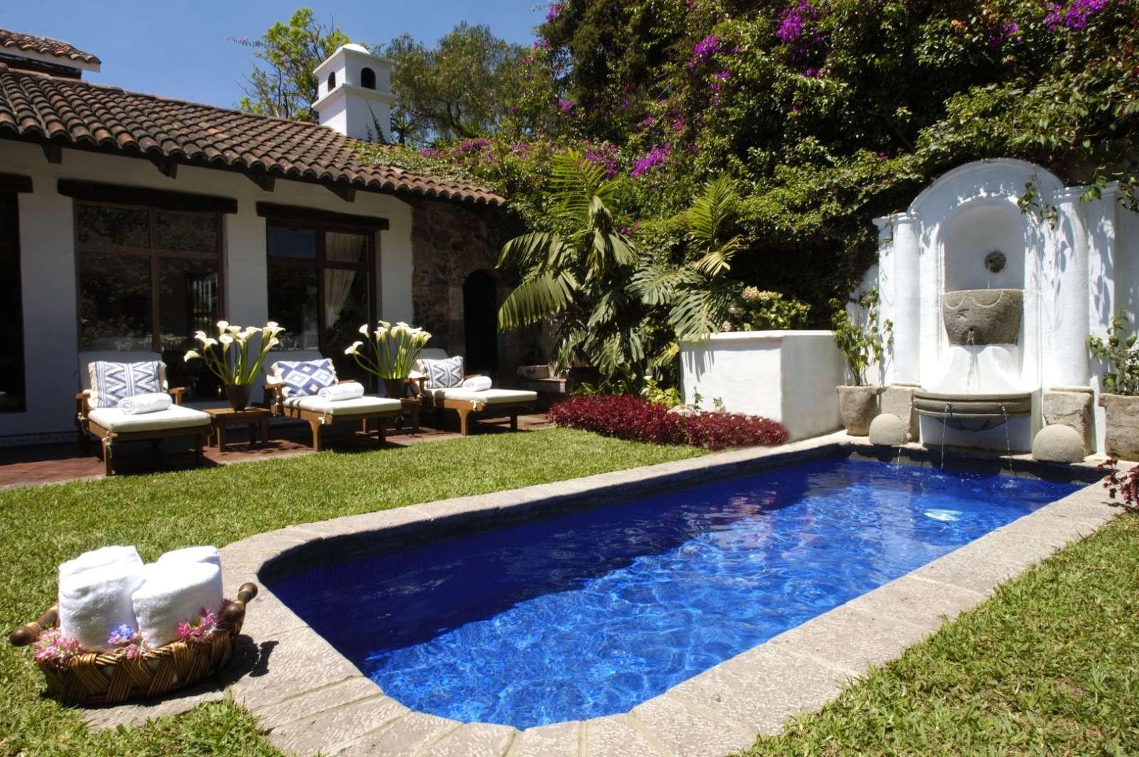 Pool at Casa Encantada in Antigua