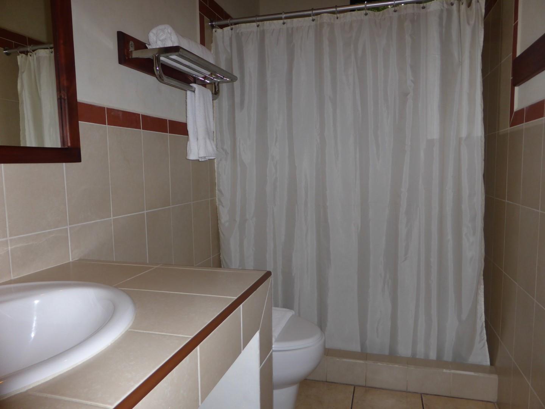 Bathroom at Casa Gaia in Coban