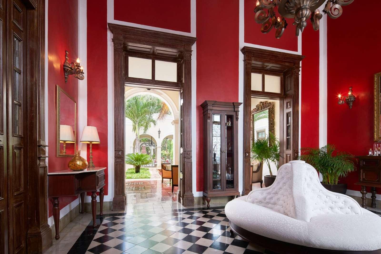 Lounge at Casa Lecanda in Merida
