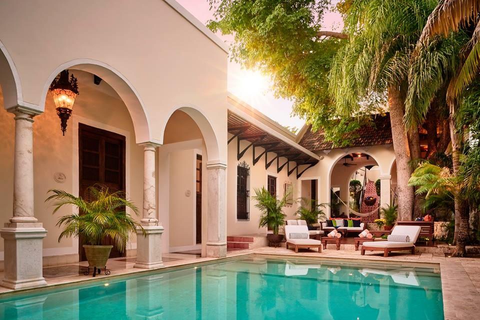 Pool at Casa Lecanda in Merida