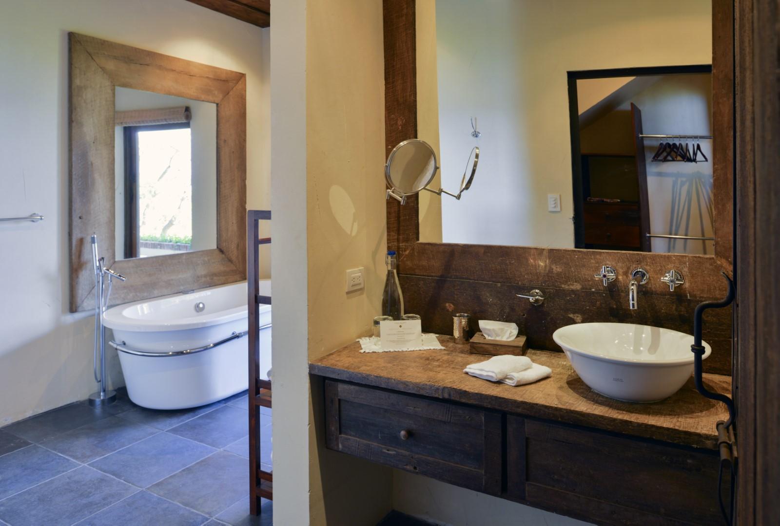 Bathroom at Casa Palopo in Lake Atitlan