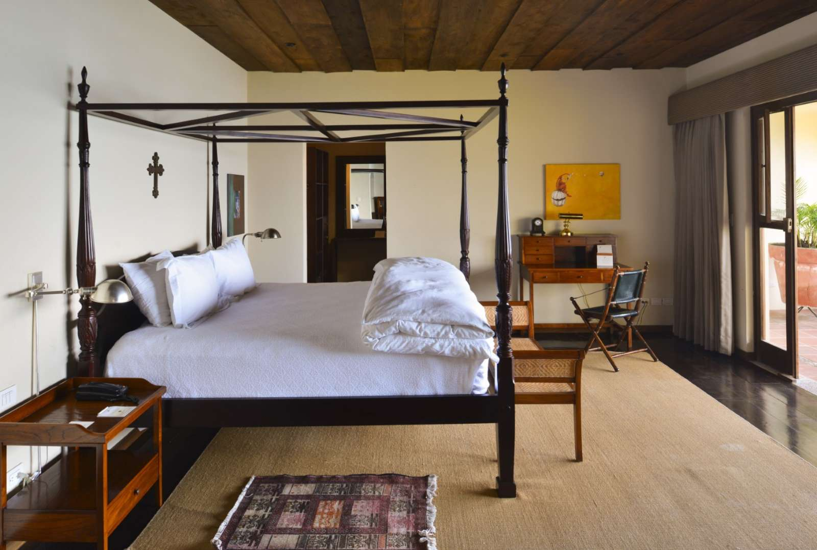 Bedroom at Casa Palopo in Lake Atitlan