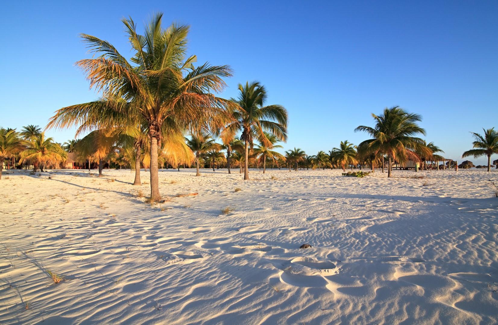 Playa Sirena on Cayo Largo. Cuba.