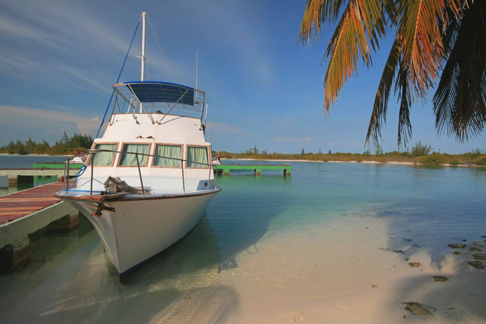 Fishing boat on Cayo Largo, Cuba
