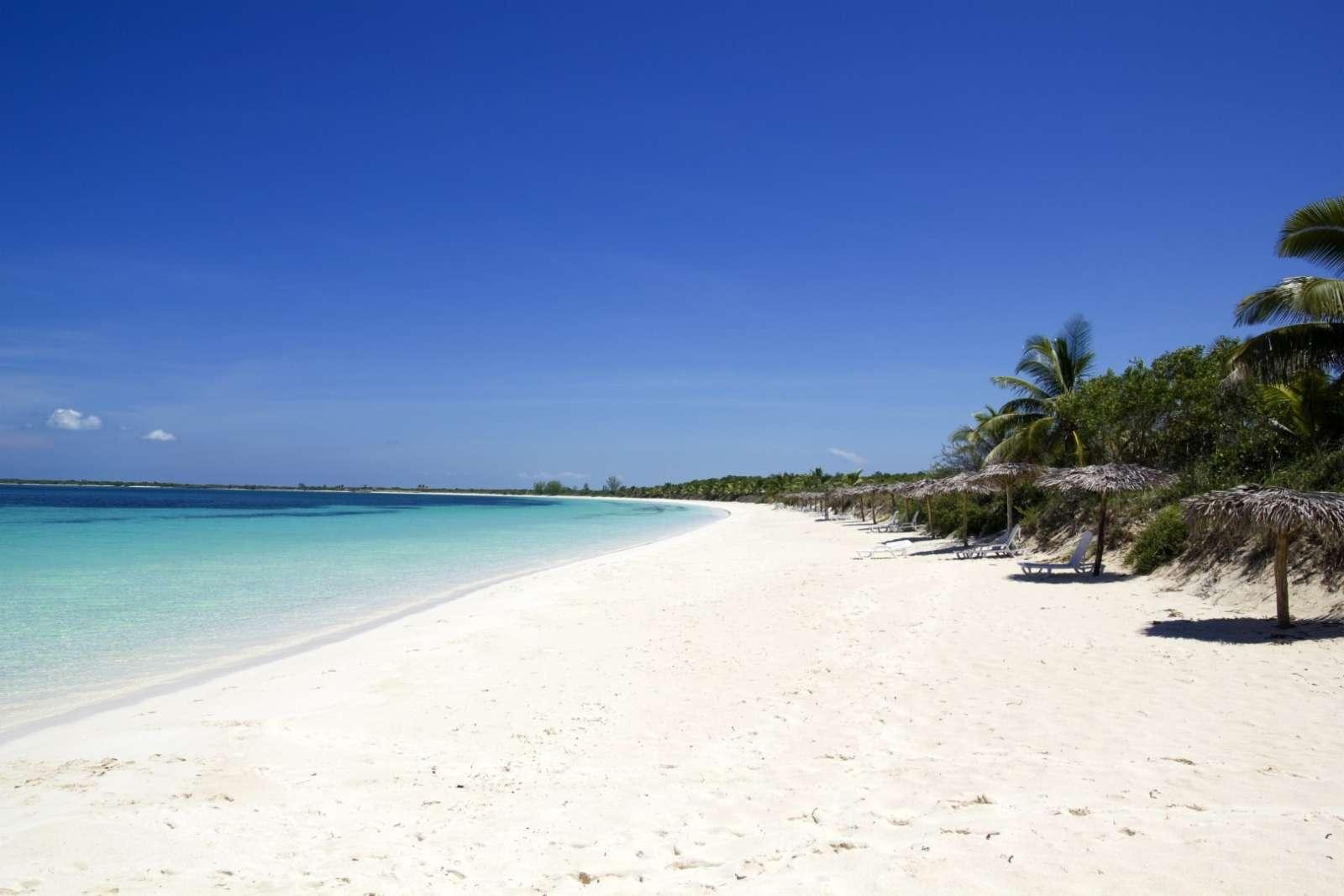 Beach at Cayos de Villa Clara
