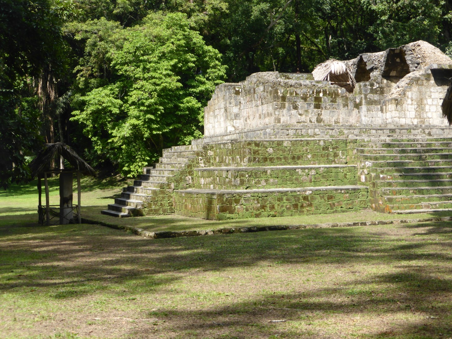 Mayan ruins at Ceibal, Guatemala