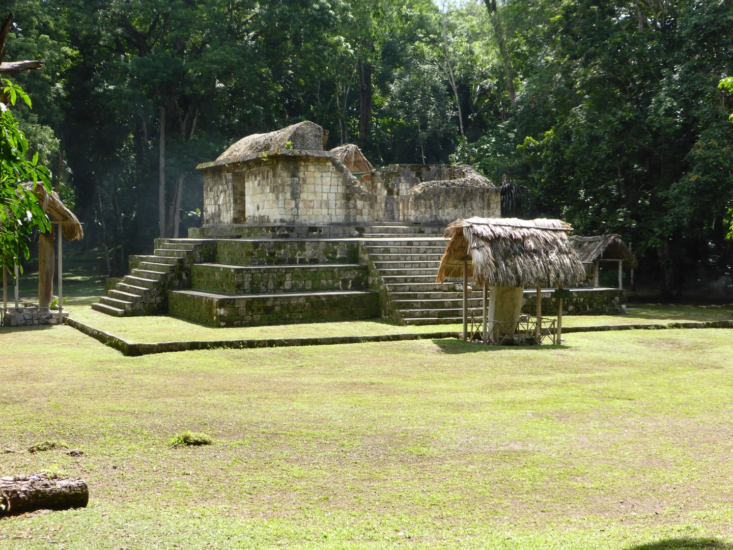 Pyramid at Ceibal, Guatemala