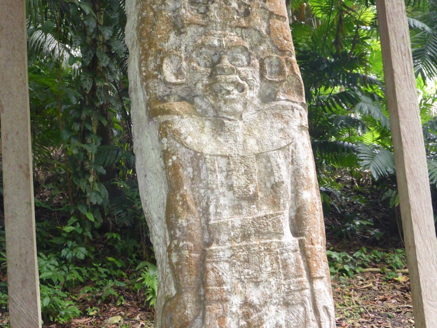 Stelae at Ceibal in Guatemala