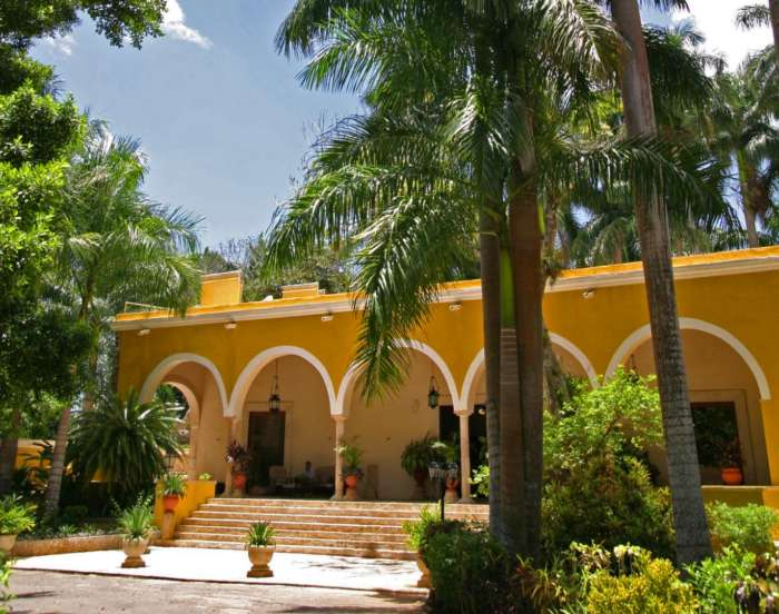 Accommodation in Chichen Itza