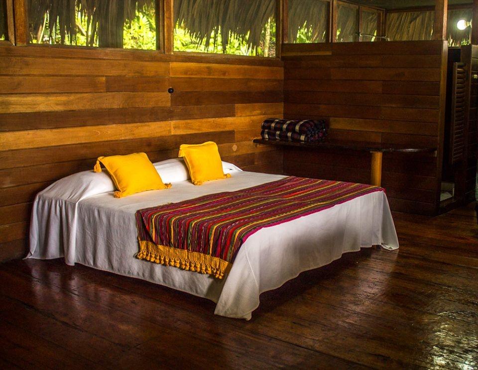 Room at Chiminos Island Lodge at Petexbatun