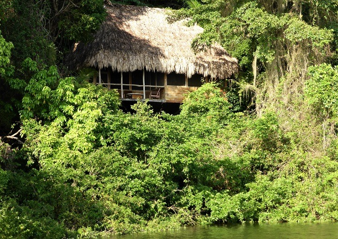 Chiminos Lodge is 90 minutes by boat from Sayaxche