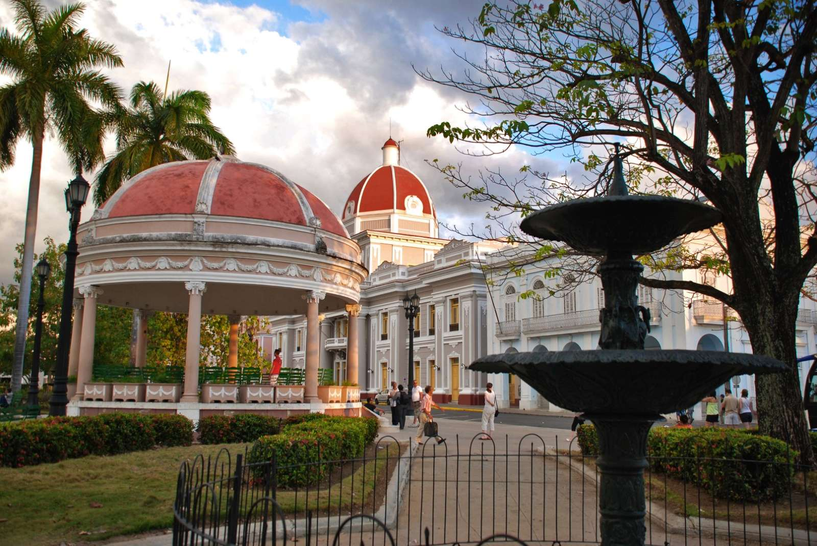 Bandstand at Parque Central, Cienfuegos