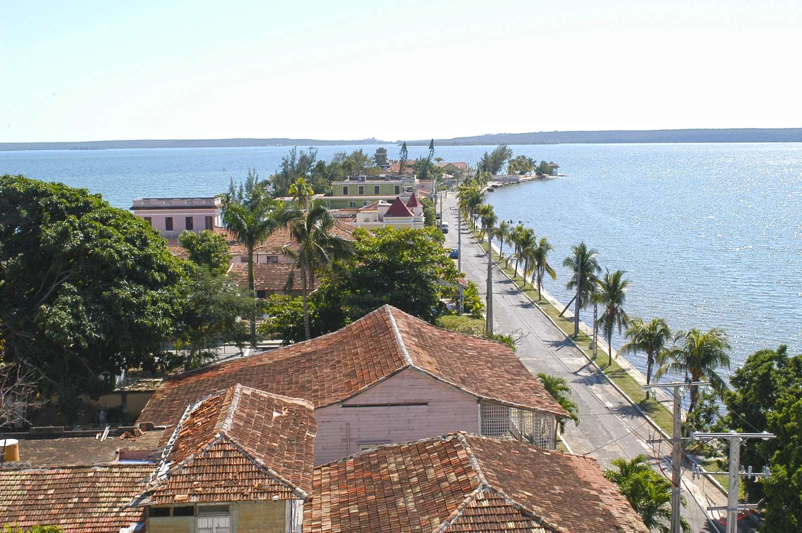 Aerial view of Punta Gorda, Cienfuegos