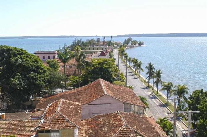 Aerial view of Punta Gorda, Cienfuegos