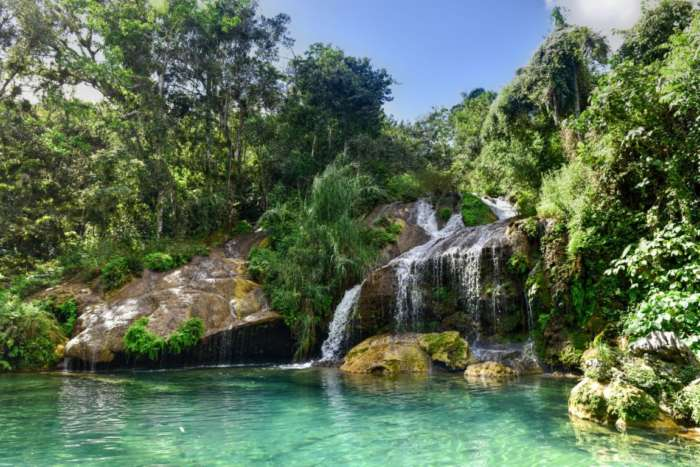 Day trip to El Nicho waterfalls in Cienfuegos, Cuba