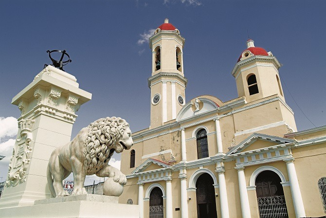 The city centre of Cienfuegos is a UNESCO World Heritage site