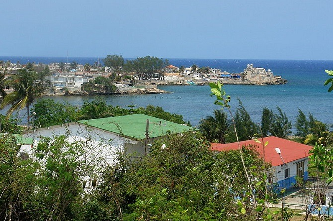 The fishing village of Cojimar, made famous in Ernest Hemingway's Old Man and the Sea
