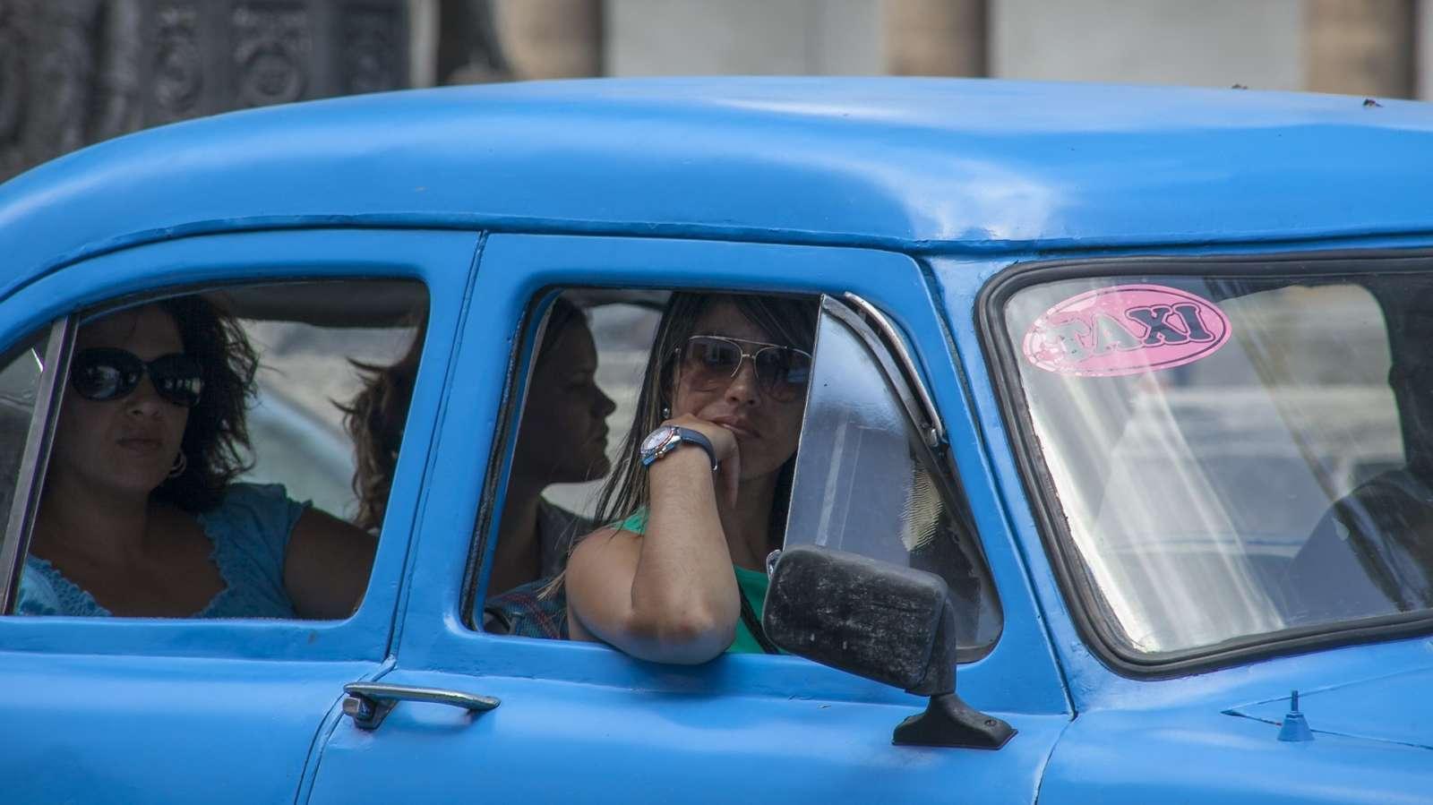An old taxi in Havana, Cuba