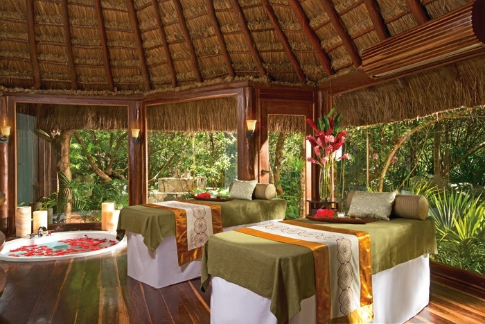 Spa cabin at Dreams Tulum