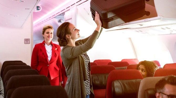 Virgin Atlantic economy light fares