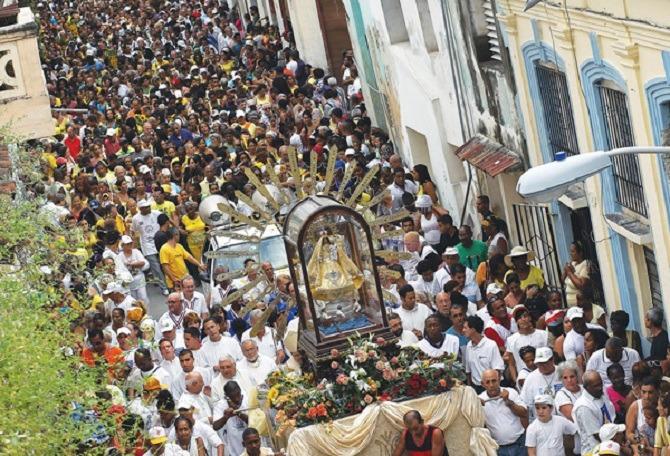 El Cobre pilgrimage