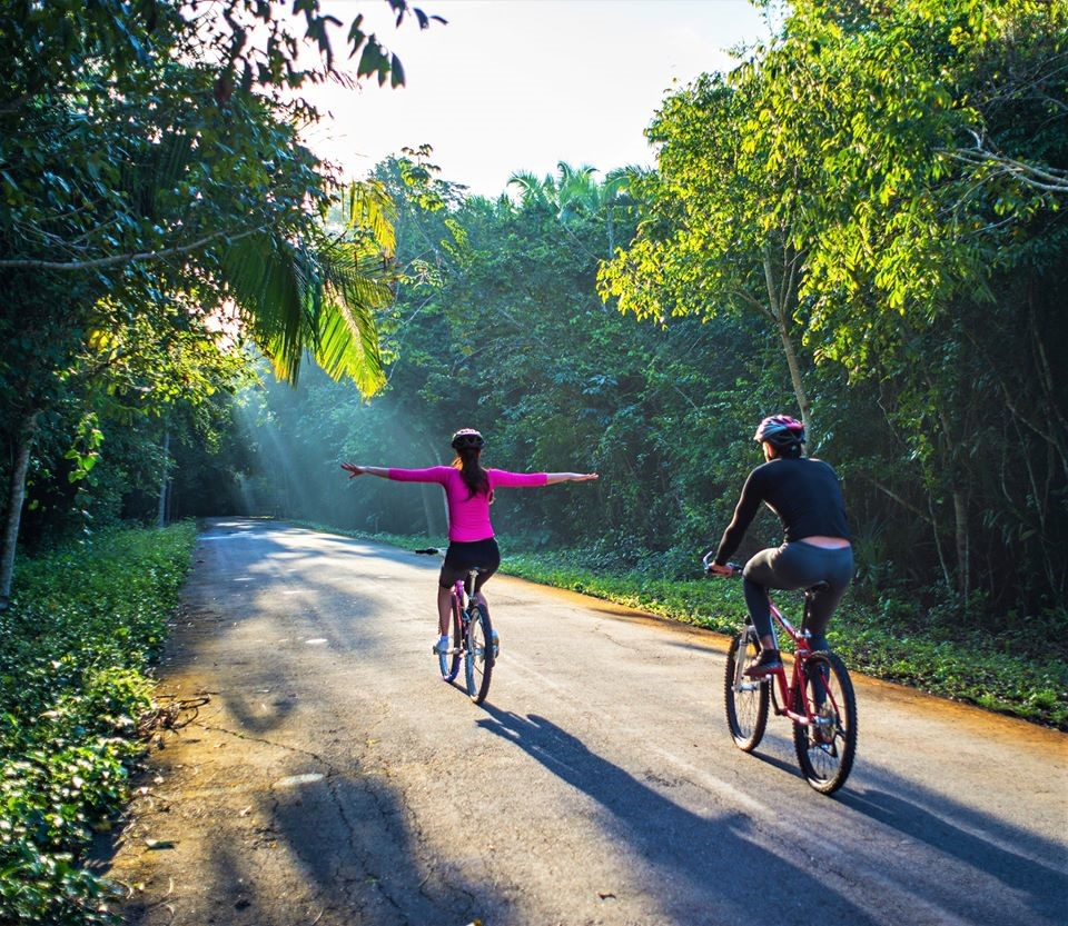 Bikes at Explorean Kohunlich