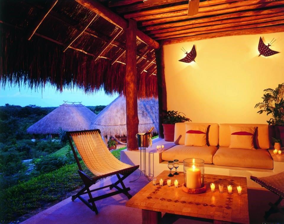 Room terrace at Explorean Kohunlich