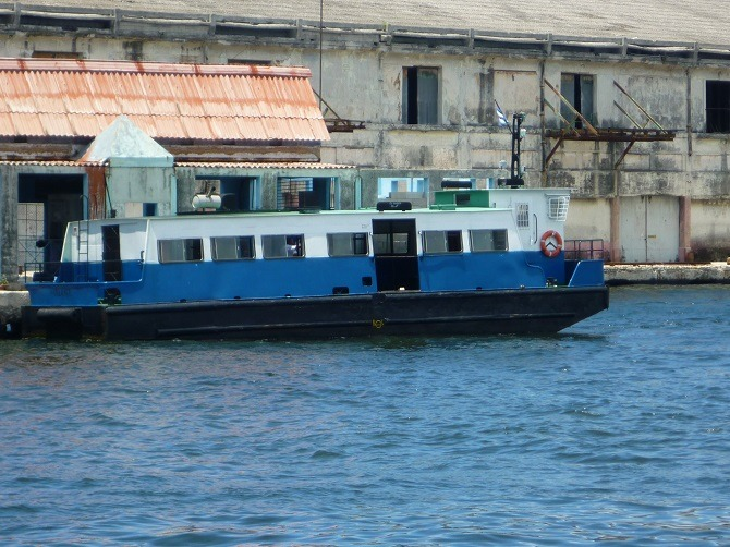 The Havana ferry