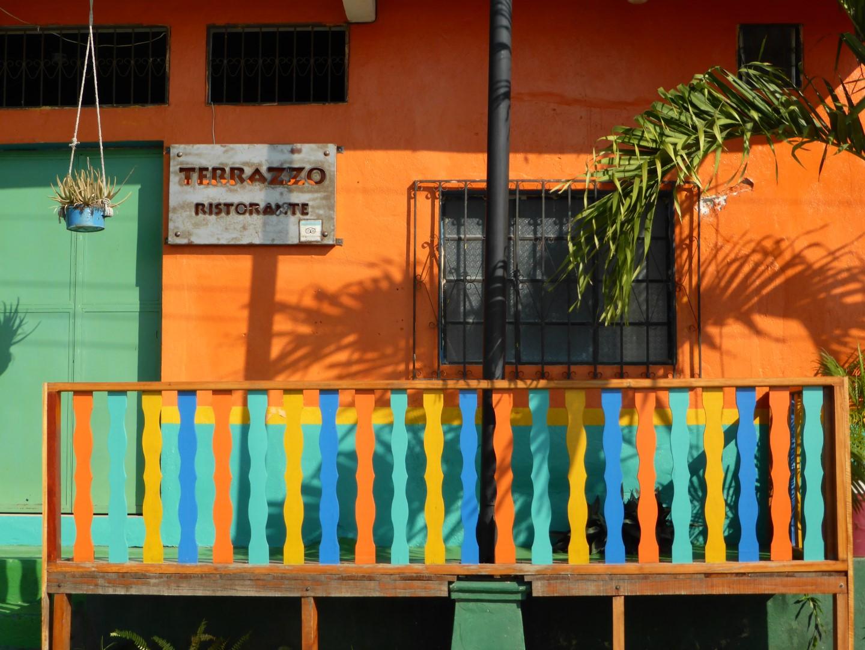 Restaurant in Flores, Guatemala