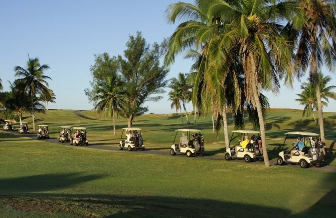 Golf in Cuba at Varadero's 18 hole course
