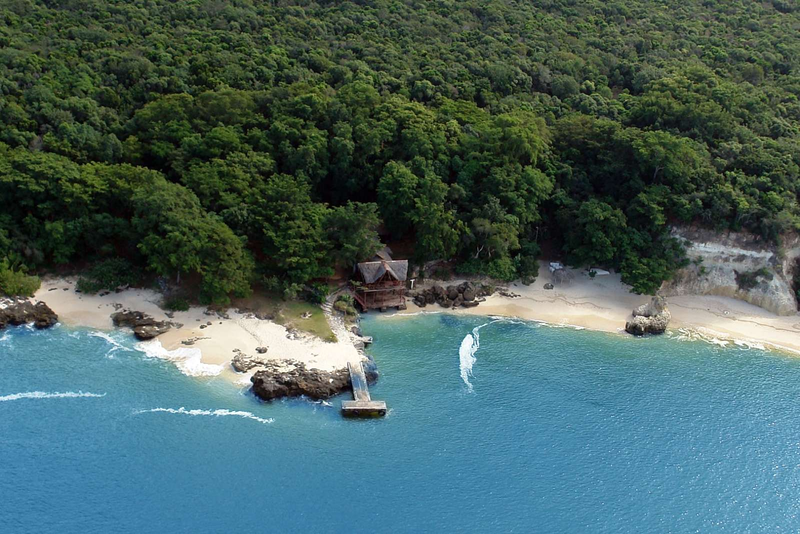 The island of Cayo Saetia near Guardalavaca