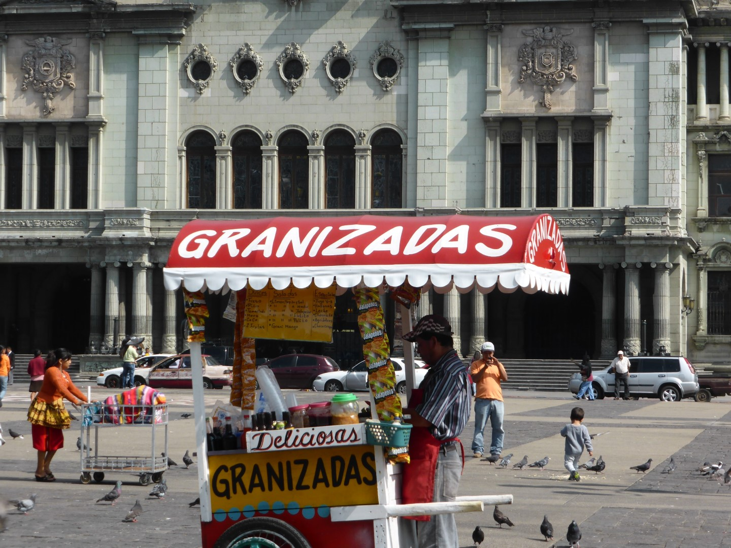 Kiosk in Guatemala City