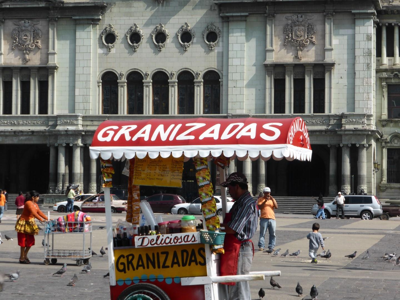 Kiosk in Guatemala City