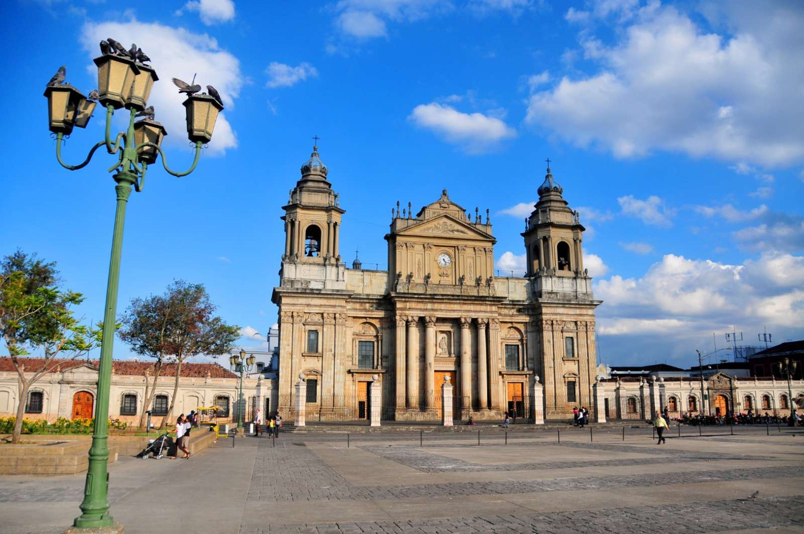 Main square in Guatemala City