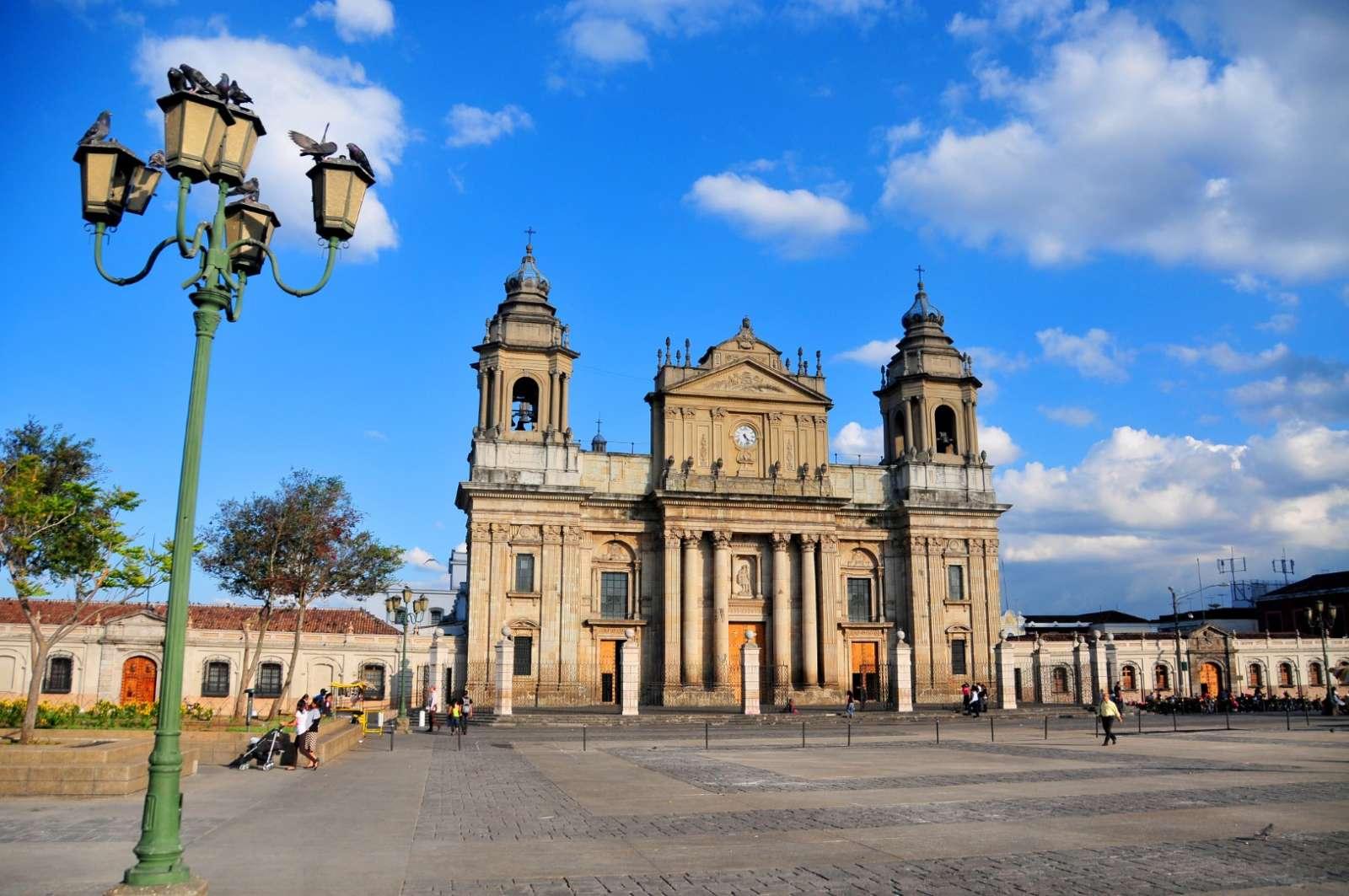 Main square in Guatemala City