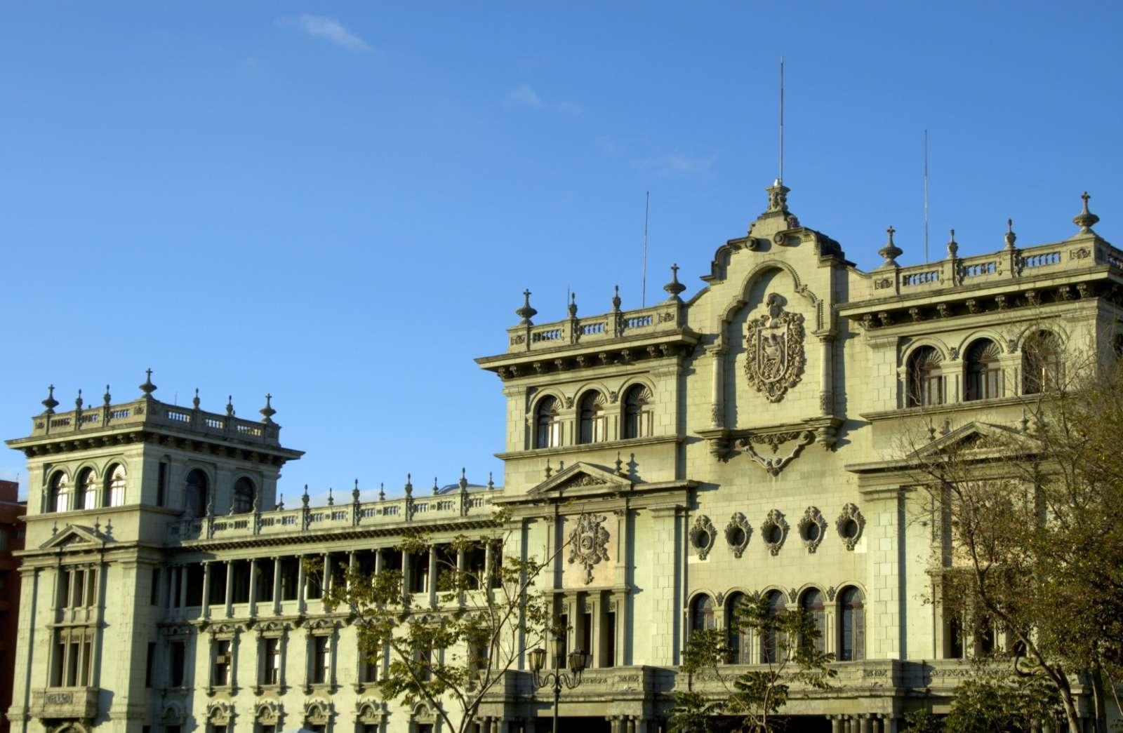 National Palace in Guatemala City